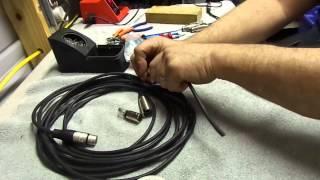 getlinkyoutube.com-XLR cable repair