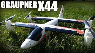 getlinkyoutube.com-Graupner X44 VTOL   Flite Test