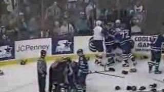 getlinkyoutube.com-Clark vs Lacroix and Potvin vs Hextall Nov 10, 1996