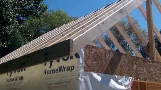 getlinkyoutube.com-DIY Shed - Part 4a - Roof Framing