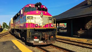 getlinkyoutube.com-Railfanning Commuters at Framingham MBTA Station