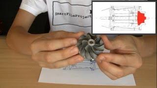 getlinkyoutube.com-Homemade Jet Engine 2.0 | construction phase 1