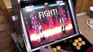 getlinkyoutube.com-HYPERSPIN  MAME 14in1 BARTOP Mini Arcade Machine VIDEO FULL