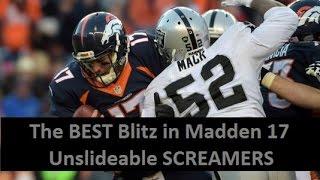 getlinkyoutube.com-The BEST Blitz in Madden 17 - UNSLIDEABLE SCREAMERS