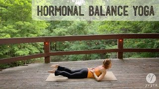 getlinkyoutube.com-Hormonal Balance Yoga practices and asana: Glad Glands (open level)