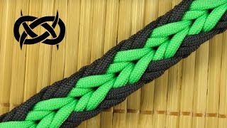 getlinkyoutube.com-How to make an Arrow Paracord Sinnet Bracelet (Paracord 101)