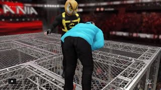 WWE 2K16 H20 Delirious vs Vanossgaming Hell in a cell Match