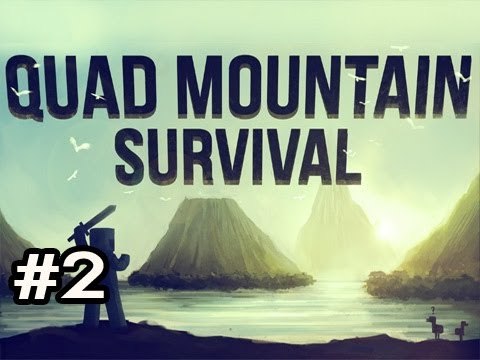 Minecraft: Quad Mountain Survival w/Nova Ep.2 - The Terror...THE HORROR