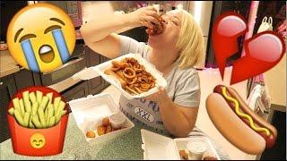 getlinkyoutube.com-Emotional Eating MUKBANG (Eating Show) | WATCH ME EAT