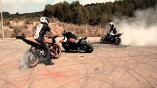 getlinkyoutube.com-Restricted Area - Drifting Motorcycles Crossing - Drift Moto