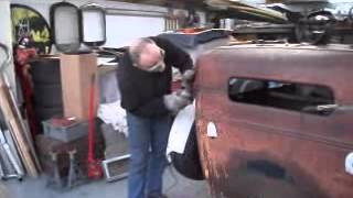 getlinkyoutube.com-1930 Model A - Rat rod/Hot rod roof chop