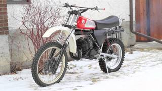 getlinkyoutube.com-1979 Husqvarna 250 CR - First Start