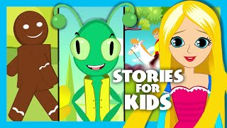 getlinkyoutube.com-Short Stories For Kids In English | Moral Stories For Kids | The Gingerbread Man Song