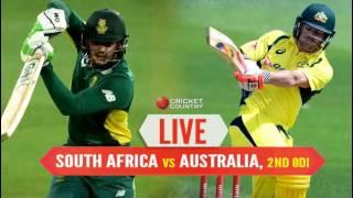 South Africa vs Australia 2nd ODI Live Streaming 2016