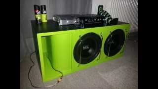 getlinkyoutube.com-The Green Monster - Subwoofer Build 2013