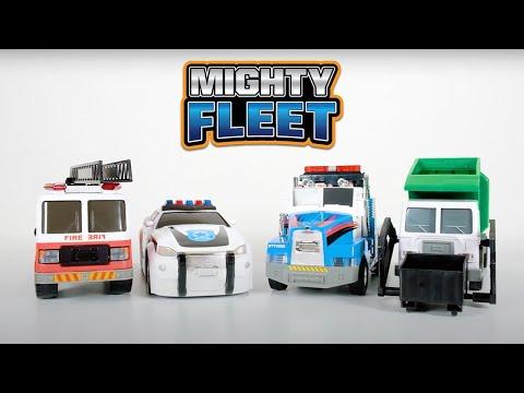 Mighty Fleet Motorised Vehicle - Assorted*