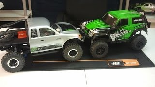 getlinkyoutube.com-Telluride vs SCX10 Final thoughts, modifications and trail footage.