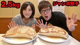 getlinkyoutube.com-【大食い】2.5kgジャンボ餃子大食い対決!ヒカキン vs 木下ゆうか