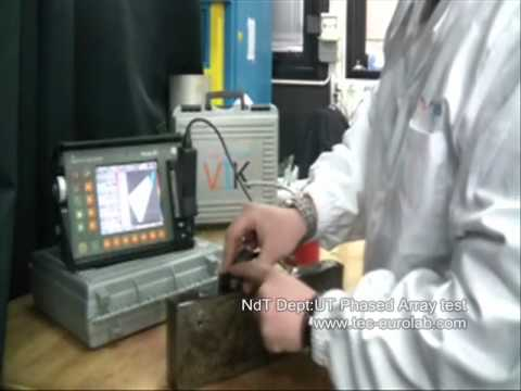 Tec-Eurolab.com: PnD Ultrasuoni con Phased Array - Ndt Ultrasonic test with Phased Array
