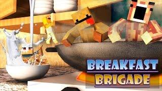 getlinkyoutube.com-Minecraft Breakfast Brigade : NEVER HAVE I EVER!