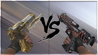getlinkyoutube.com-CrossFire 2.0 : DUAL DESERT EAGLE-EL DORADO vs D.E-BORN BEAST [VVIP Desert Eagle Comparison]