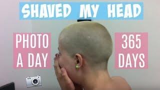getlinkyoutube.com-Shaved My Head | Hair Growth In 365 Days | Timelapse
