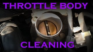 getlinkyoutube.com-Throttle Body Cleaning - 4 Cylinder Toyota