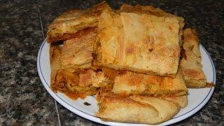 getlinkyoutube.com-مسمن الشحمة فالفران مع طبخ ليلى msemen chahma