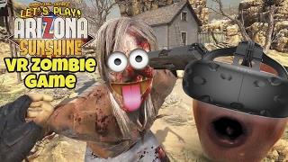 getlinkyoutube.com-Midget Apple Plays - Arizona Sunshine (VR Zombie Game)