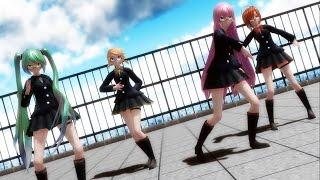 getlinkyoutube.com-【MMD】Sweet Devil (colate remix) - Miku, Luka, Rin, Meiko HD 1080p
