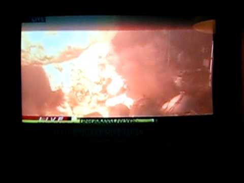 Massive 9.0 Earthquake Japan Oil Refinery Inferno Tsunami