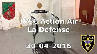 IPSC Action Air - La Defense - Level 2 - 30-04-2016