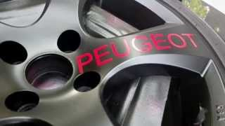 Peugeot 207 RC Pimp my Rims / Wheels Tuning Tutorial [Super HD View]