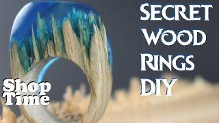 getlinkyoutube.com-Secret Wood Rings DIY