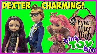getlinkyoutube.com-Ever After High Dexter Charming! Doll Review by Bin's Toy Bin