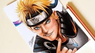 getlinkyoutube.com-Drawing Realistic Naruto | Desenhando Naruto Realista ( Releitura de Fanart da Sakimichan )