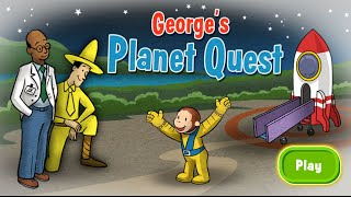 getlinkyoutube.com-Curious George - George's Planet Quest Full Episodes Cartoon Game HD 1080p