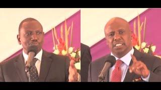 getlinkyoutube.com-Deputy President Ruto and Senator Moi clash at Mark Too's burial