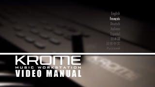 getlinkyoutube.com-Manuel Vidéo Mode d'emploi en français KORG Krome