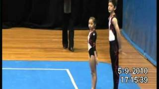 getlinkyoutube.com-2010 Level 6 Mixed Pair Acro Gymnastics - Australia