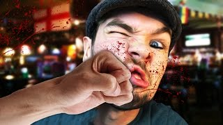 getlinkyoutube.com-LET THE BODIES HIT THE FLOOR | Paint The Town Red #1