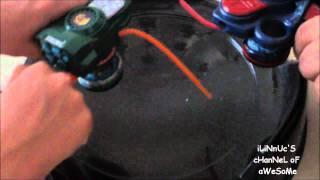 IR Spin Control Battle Ray Striker v. Galaxy Pegasus