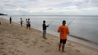 getlinkyoutube.com-เย่อกับปลาท้องทะเลบ้านกรูด ฝีมือตกปลาทรายฉมังมาก