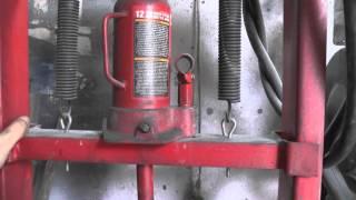 getlinkyoutube.com-Гидравлический пресс в гараж. Hydraulic press in the garage
