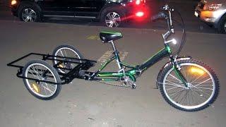 getlinkyoutube.com-Tricycle (трайк) - Рекламный для штендера 11 14