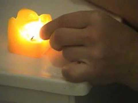 Pyrokinesis The flame pulse experiment