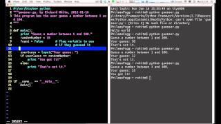 getlinkyoutube.com-Writing a Python Program - Simple Workflow