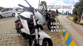 getlinkyoutube.com-BENELLI 600I + IXIL EXHAUST : ROAD TEST : AWESOME SOUND !!!