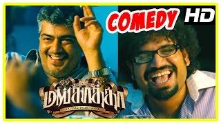 Mankatha Tamil Movie HD | Back to Back Comedy Scenes | Ajith | Premgi | Trisha | Venkat Prabhu