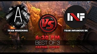 getlinkyoutube.com-[Vainglory Showmatch] Team Infamous SK vs Team Wake | Caster : Junky